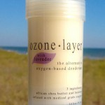 all natural Ozone Layer Deodorant with lavender essential oil, now available in seven scents including unscented.