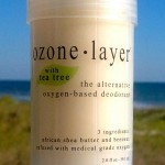 all natural Ozone Layer Deodorant with tea tree essential oil, now available in seven scents including unscented.